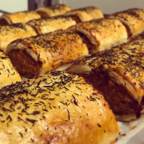 Mini Chicken, Preserved Lemon & Thyme Sausage Roll 6 Pack