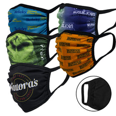 3-Ply Dye-Sublimated Cloth Masks