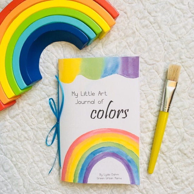 My Little Art Journal of Colors