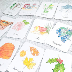 Months of the Year Flashcards | LATIN