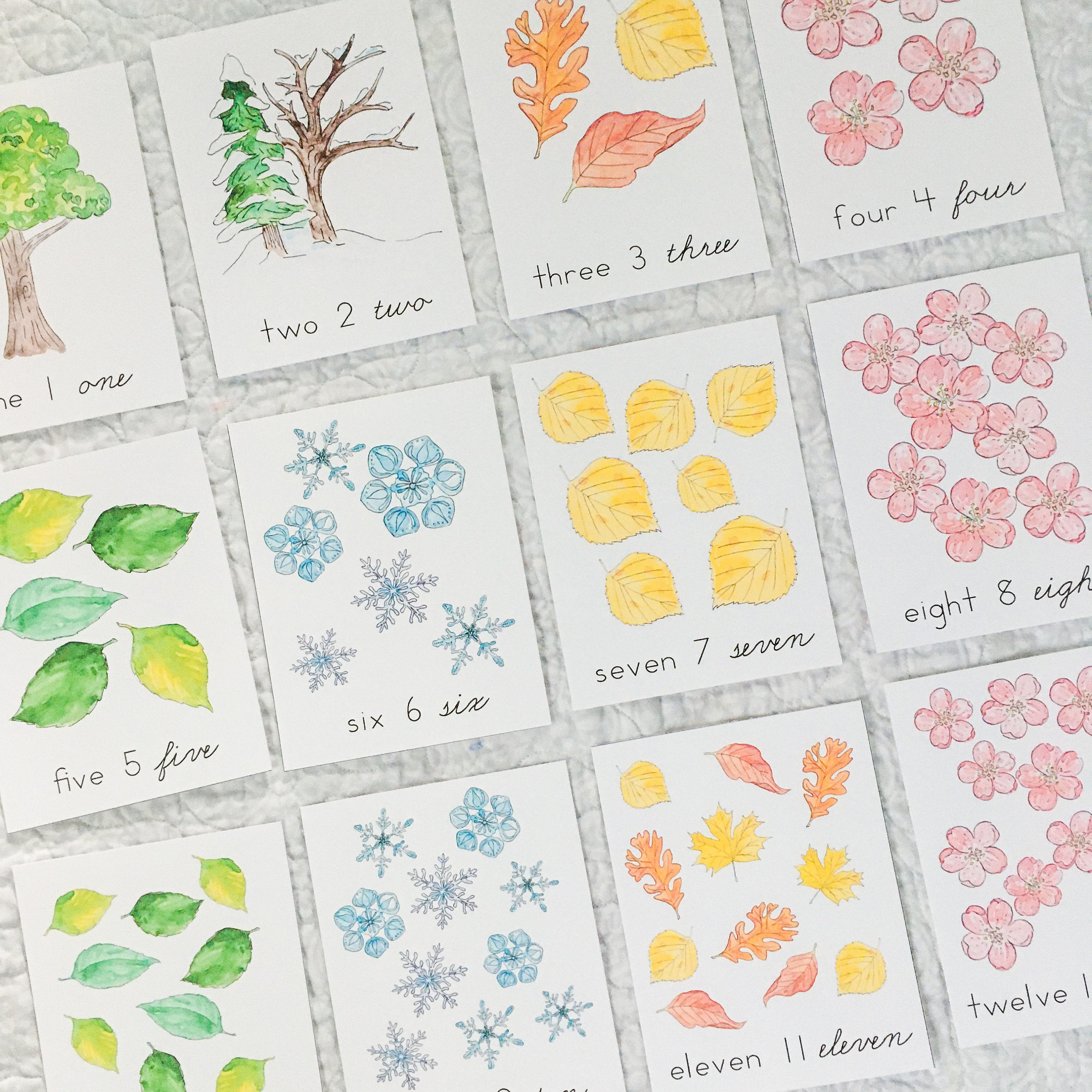 Seasons Counting Cards