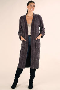 Charcoal Oversized Duster