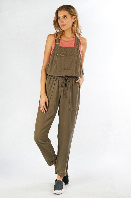 Casual Tencel Overall