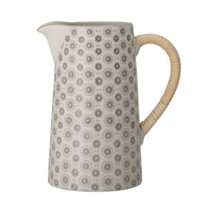Rattan Handle Pitcher