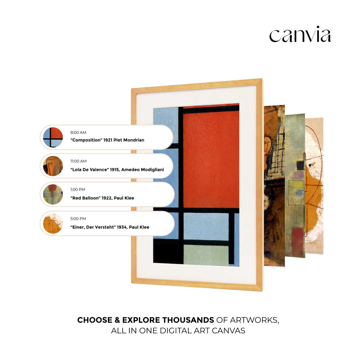 Canvia Digital Art Canvas & Smart Digital Frame