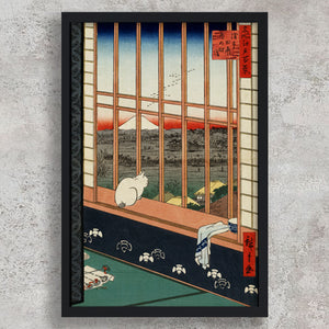 Asakusa Rice Fields and Festival of Torinomachi - Utagawa Hiroshige