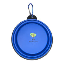 Load image into Gallery viewer, Portable & Collapsible Silicone Dog Bowl