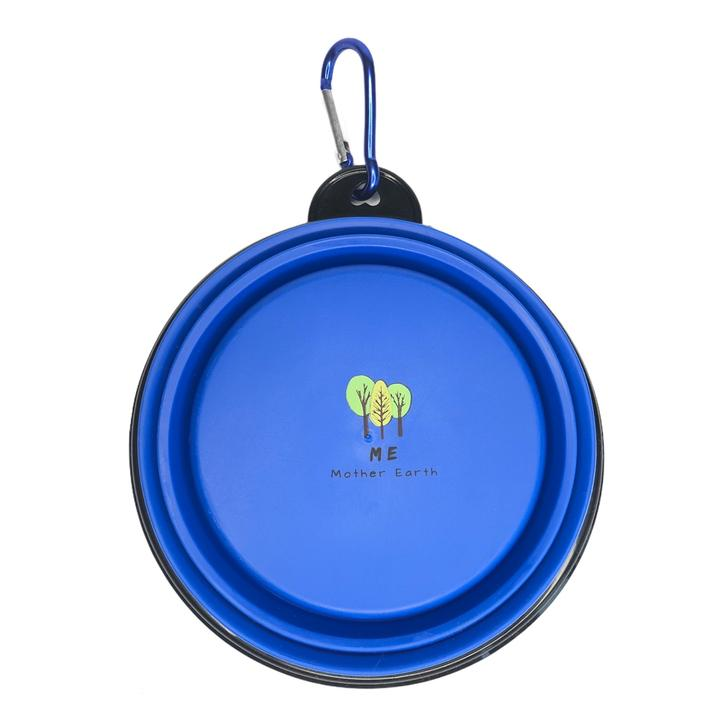 Portable & Collapsible Silicone Dog Bowl