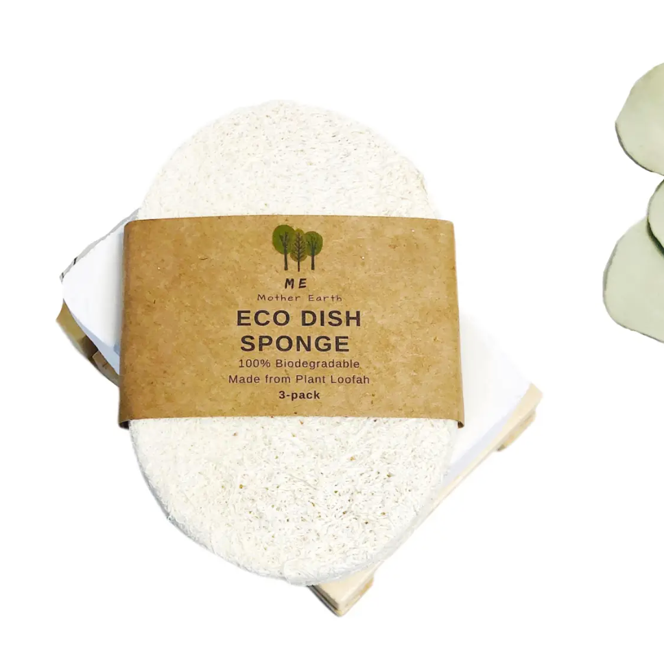Eco Dish Sponges: Single layer 3 pack