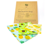 Load image into Gallery viewer, Plant Based Wax Food Wraps 3-Pack