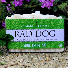 Load image into Gallery viewer, Rad Dog - Stink Relief - Dog Soap Bar