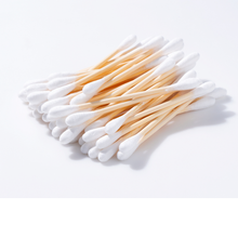 Load image into Gallery viewer, Bamboo Cotton Swabs