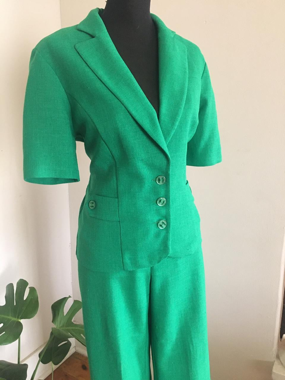 Bright Green suit