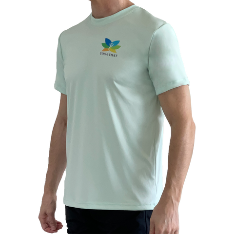 YOGA THAT Clearly Aqua Mens T-Shirt