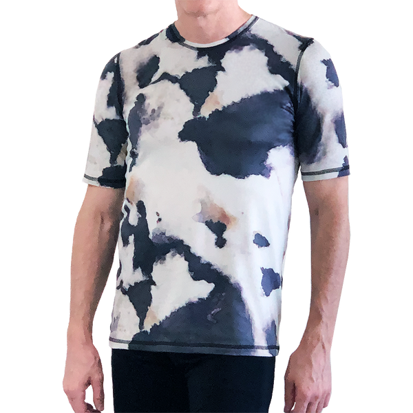 Marble Short-Sleeve T-Shirt