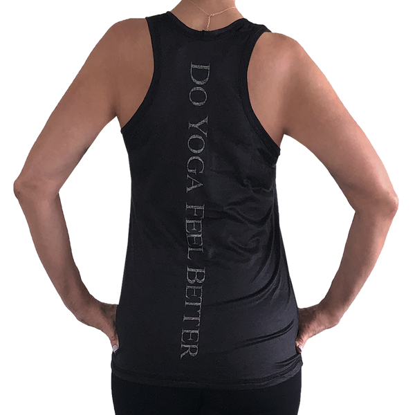 """Do Yoga Feel Better"" Tank"