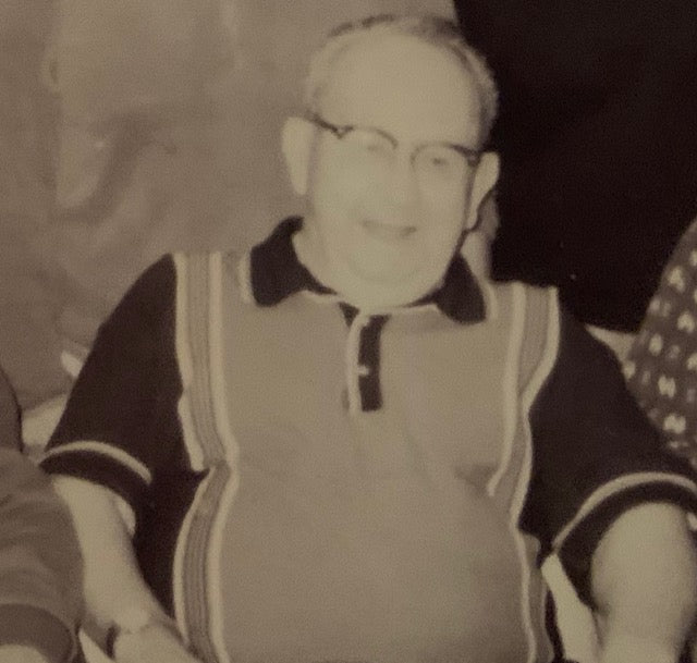 "A photo of my Grandpa, ""Shorty"" Raygor"