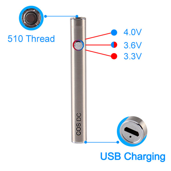 ECT COS DC 510 Thread Battery 450 mAh