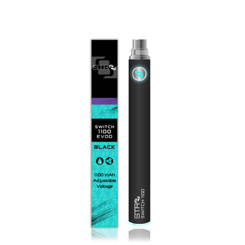 STR8 Switch 1100 MAh Evod Vape Battery