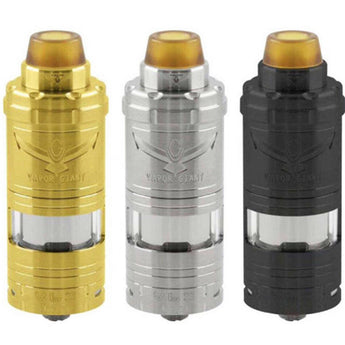 IN US Giant V6s 6ml RTA 23MM 316ss Tank SS/GOLD/BLACK fast shipping
