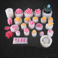 DIY Succulent plants silicone molds resin moulds