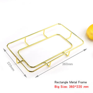 Fruit tray silicone mold tea tray coaster large silicone mold diy crystal epoxy Resin table coaster mold