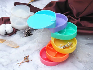 DIY Multi-layer Jewelry Rack Silicone Mold