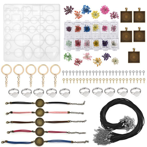 Moroyal DIY Resin Jewelry Casting Mold Letter Number Pendants Key Chain Silicone Mold for DIY Jewelry Making Tools