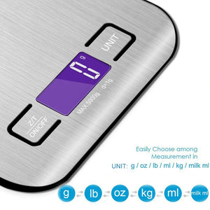 5KG x 1g Stainless Steel Digital Scale Electronic Scale Digital Without Battery