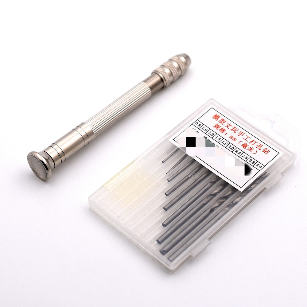 1 PC Metal Hand Drill Equipments with 0.8mm-3.0mm Drill Screw