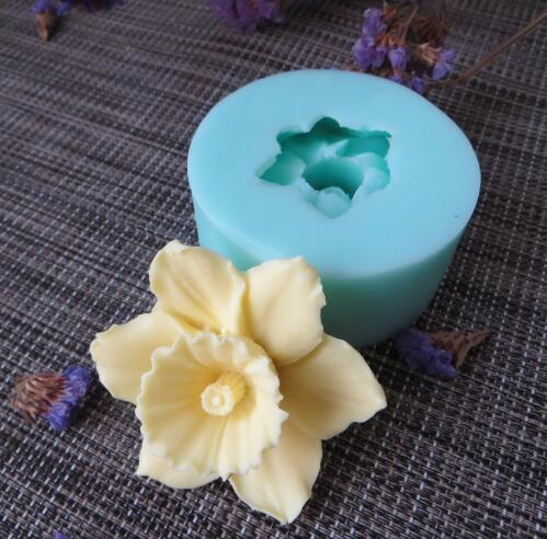 3D molds flowers silicone soap mold flower candle aroma mould soap making moulds resin clay molds