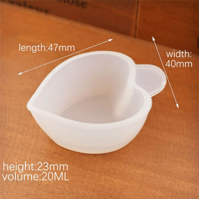 1X Silicone Split cup Resin Silicone Mould handmade DIY Jewelry Making tool epoxy resin cup