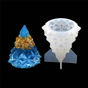 1 PC Silicone Mold Crafts christmas tree Resin Mould