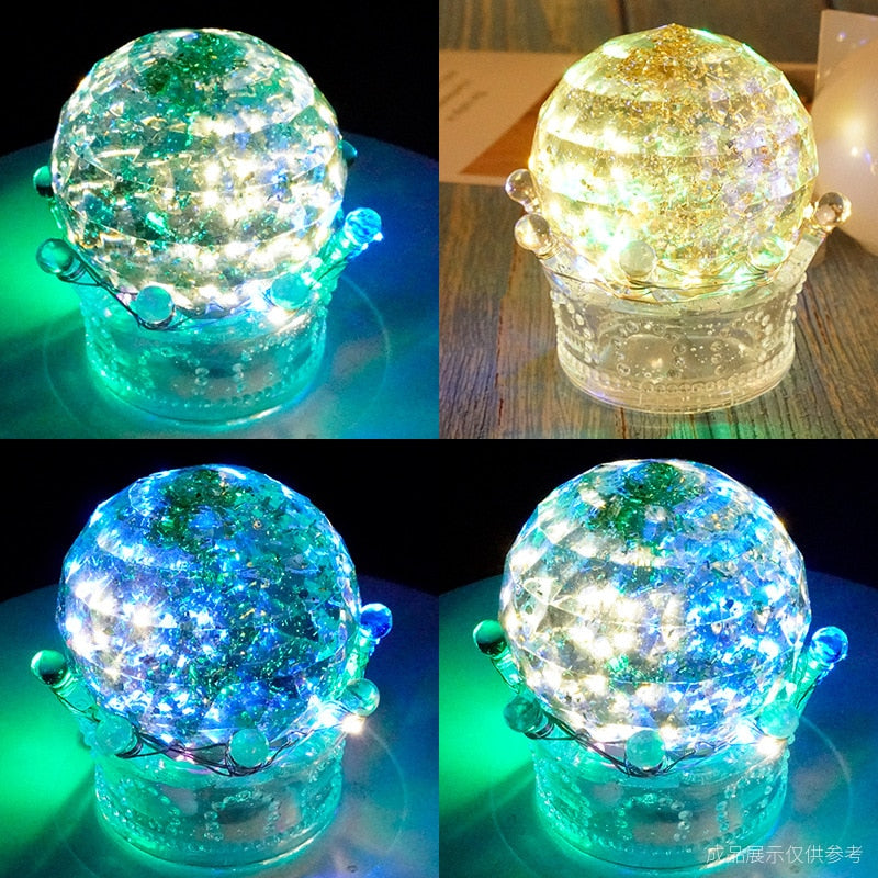 flat faceted crystal ball Silicone Mold for jewelry making tool diy UV epoxy resin molds Dried Flower Resin Decorative