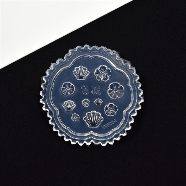 tiny beads flower pig bear leaf shell dolphin beauty nail art Resin Silicone Mould tool UV epoxy resin Box silicone mold