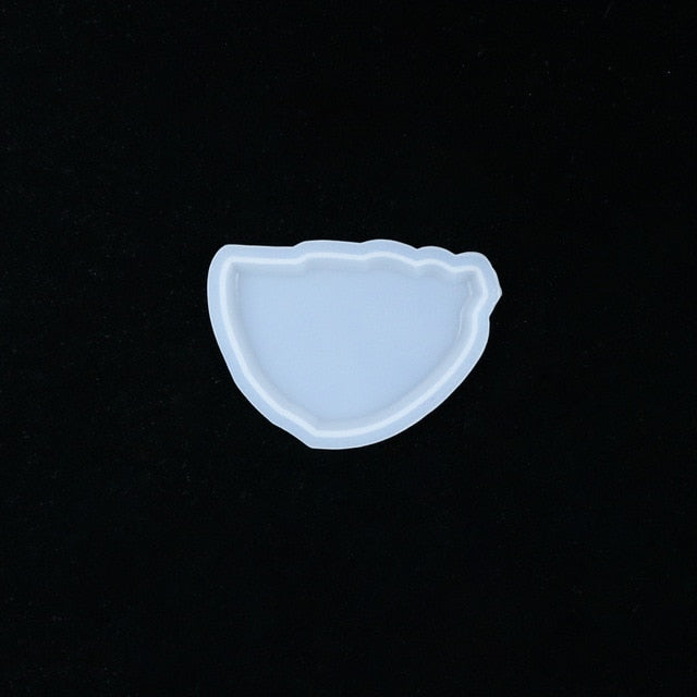 Special Shaped Epoxy Resin Mould DIY Crystal Epoxy Aroma Gypsum Pendant DIY Silicone Mould For Resin
