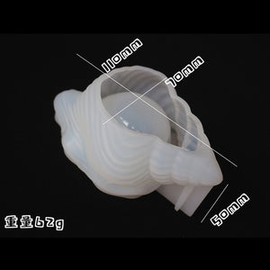 DIY Conch Shell Epoxy Resin Mold Elephant Storage Silicone Mold