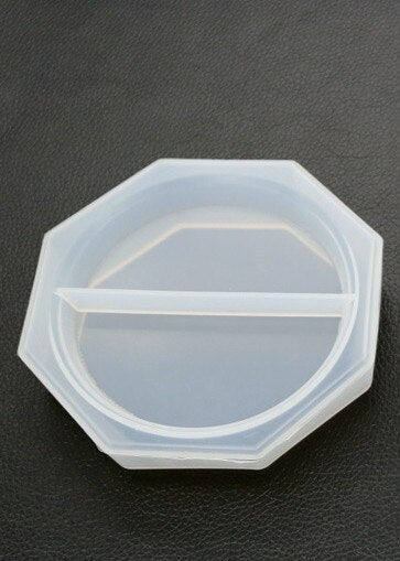 DIY crystal epoxy Resin mold irregular dish mold flower mirror manual storage box silicone mold