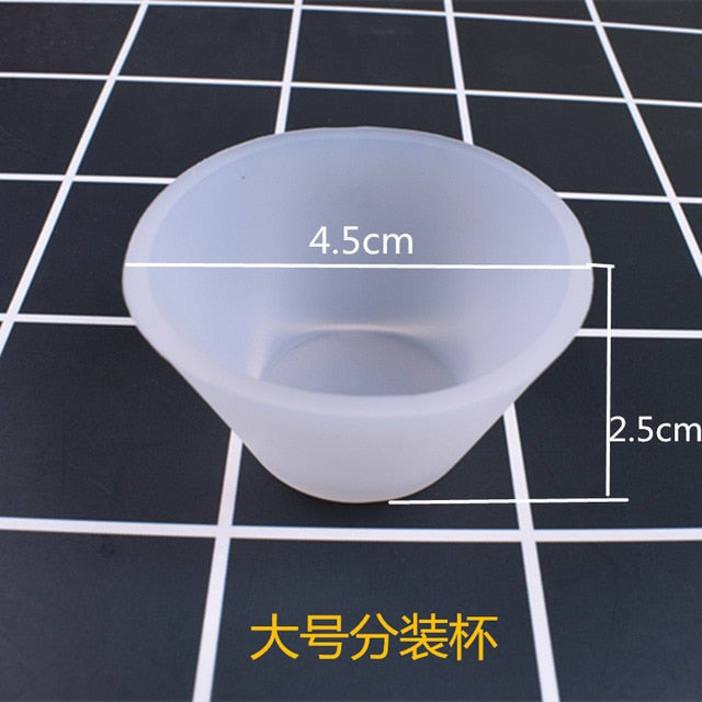 5PCS DIY jewelry Making Tools disposable silicone cup