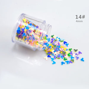 Gold Pearl Beads Accessories Sequins DIY Nail Slime Crystal Epoxy Material