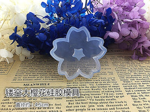 DIY Epoxy jewelry crystal Resin mold moon stars sailors moon water pattern pendant Trojan mold silicone cake jewelry tools