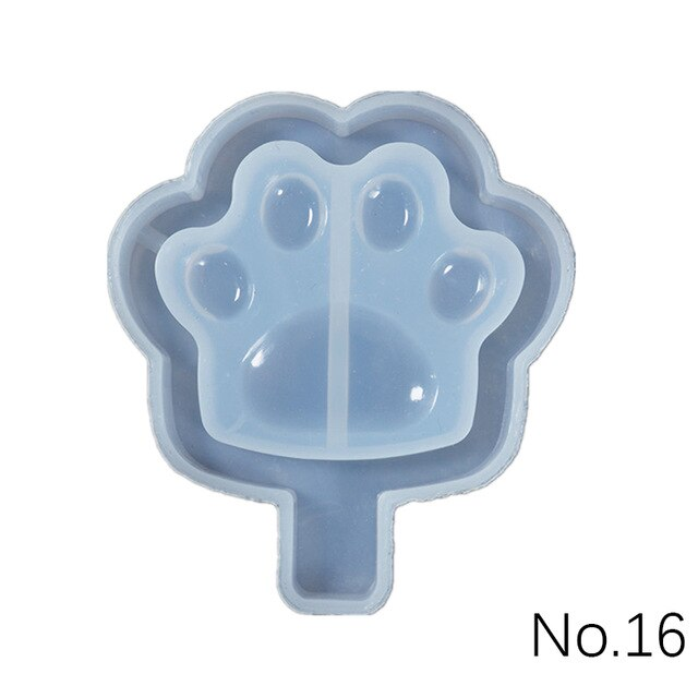 Quicksand key pendant Silicone Mold jewelry making DIY tool UV epoxy resin molds Dried Flower Resin Decorative Crafts