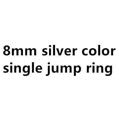 100X 4mm 5mm 6mm 7mm jump ring split rings
