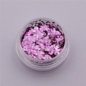 3pieces 1mm mini hexagonal Sequins filler glass globe silicon mold filler charms