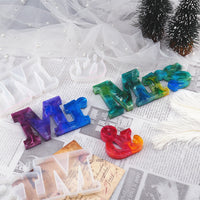 DIY Mr Mrs Letter Resin Mold Letter Decoration English Word Combination Silicone Mold