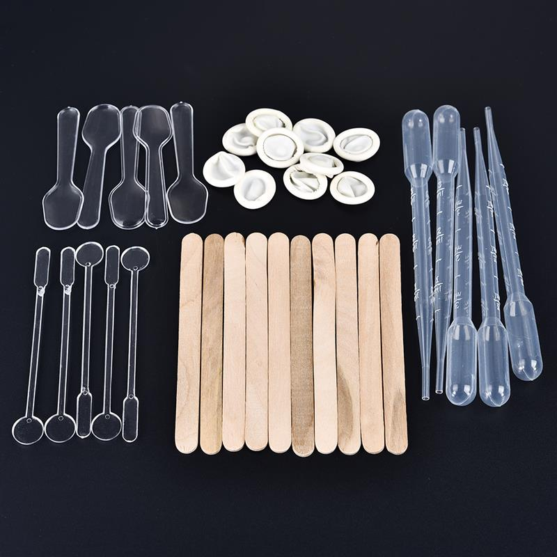 35pcs/set  Resin Mold Tools Kit  Dropper Stirring Rod Finger Cots For Diy Epoxy UV Resin Jewelry Making Tools