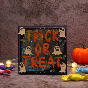 Trick or Trea Letter Metal Cutting Dies Craft Stencil Punching Templates Scrapbooking Halloween Embossing Mold