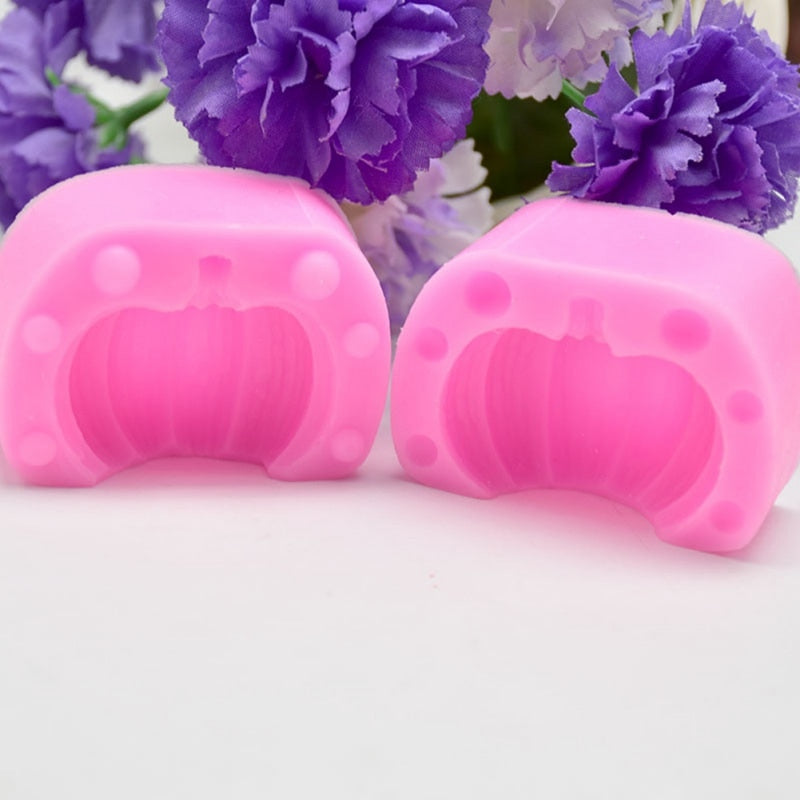 Halloween Letter Silicone Mold DIY Chocolate Cake Fondant Mould Baking Tools Home Kitchen Tools