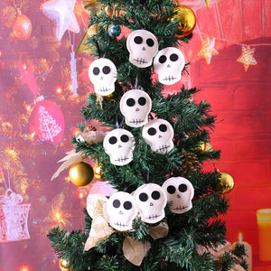 Halloween Ghost Skull Pendant Decor Party DIY Hanging Decoration 10PCS