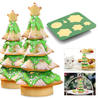 DIY Christmas Tree Mould Silicone Cake Mold